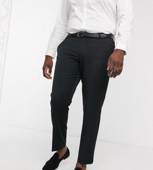 Черные брюки скинни под смокинг Plus-Черный цвет ASOS DESIGN