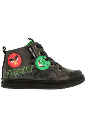 Ботинки Angry Birds. Цвет: серый