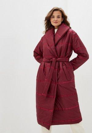 Куртка утепленная Vivaldi. Цвет: бордовый