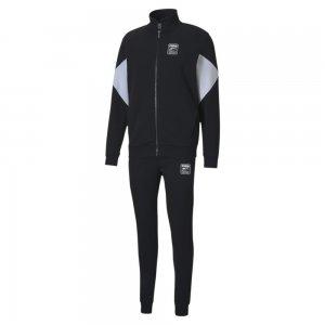 Спортивный костюм Sweat Suit PUMA. Цвет: черный