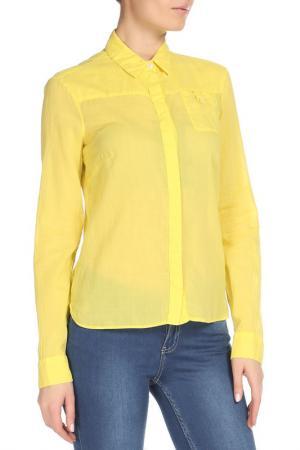 Блузка CNC Costume National C'N'C. Цвет: желтый
