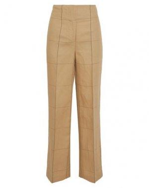 Повседневные брюки BY MALENE BIRGER. Цвет: песочный