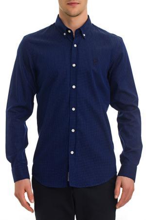 Рубашка Galvanni. Цвет: синий