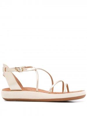 Сандалии Anastasia Ancient Greek Sandals. Цвет: золотистый
