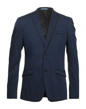 Пиджак EXTENDED by MINIMUM. Цвет: темно-синий