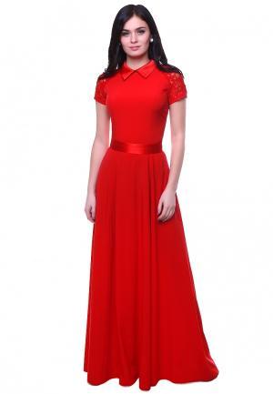 Платье Grey Cat KORY. Цвет: красный