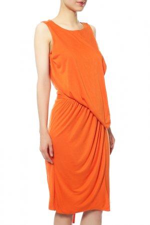 Платье Givenchy. Цвет: оранжевый