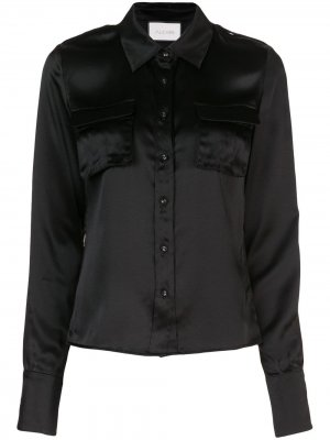 Блузка свободного кроя Alexis. Цвет: черный