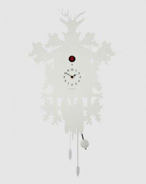 Настенные часы DOMENICONI. Цвет: белый