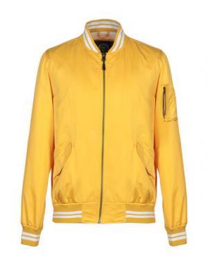 Куртка FRANKLIN & MARSHALL. Цвет: желтый
