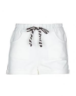 Повседневные шорты ALPHA STUDIO. Цвет: белый