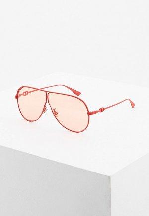 Очки солнцезащитные Christian Dior DIORCAMP 0Z3. Цвет: красный