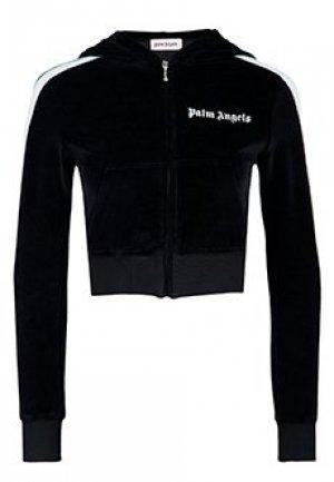 Олимпийка PALM ANGELS. Цвет: черный