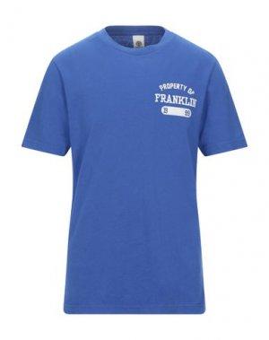 Футболка FRANKLIN & MARSHALL. Цвет: синий