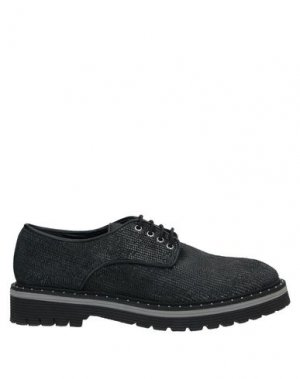 Обувь на шнурках ANGELO BERVICATO. Цвет: стальной серый