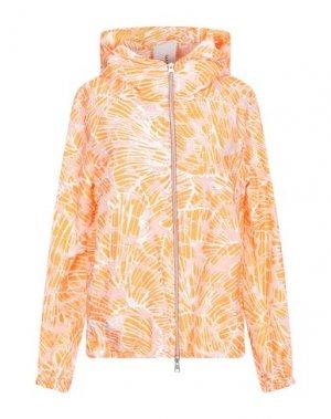 Куртка MANUELA CONTI. Цвет: оранжевый