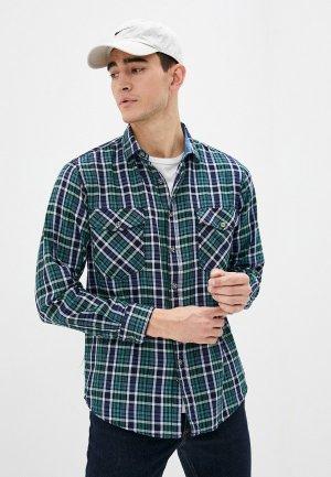 Рубашка Dairos. Цвет: зеленый