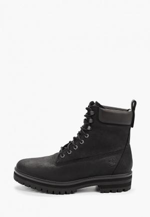 Тимберленды Timberland Courma Guy Boot WP JET BLACK. Цвет: черный