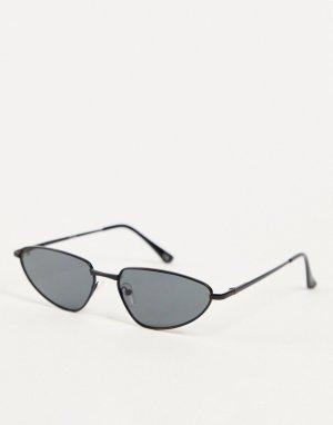 Солнцезащитные очки с маленькими линзами -Черный цвет Jeepers Peepers