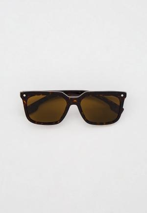 Очки солнцезащитные Burberry BE4337 300273. Цвет: коричневый