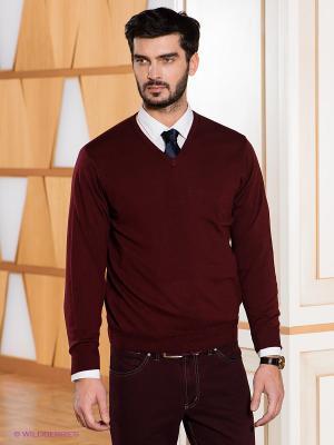 Пуловер Baumler. Цвет: бордовый