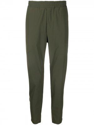 Спортивные брюки Hydrogen. Цвет: зеленый