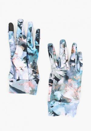 Перчатки Roxy Liner. Цвет: разноцветный