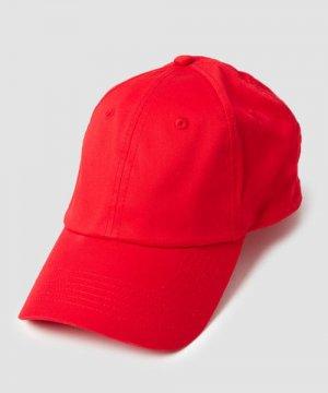 Базовая кепка O`Stin. Цвет: красный