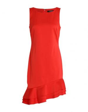 Короткое платье BADGLEY MISCHKA. Цвет: красный