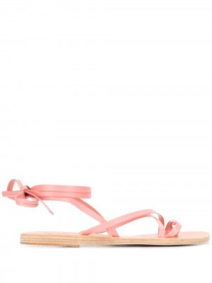 Босоножки с ремешками Ancient Greek Sandals. Цвет: розовый