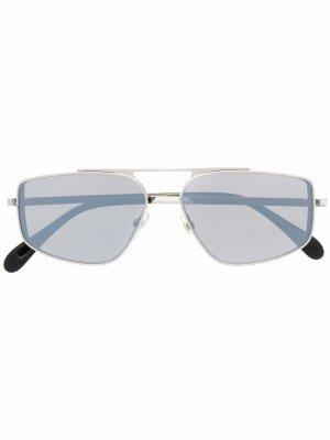 Солнцезащитные очки-авиаторы Givenchy Eyewear. Цвет: 010t4 palladium