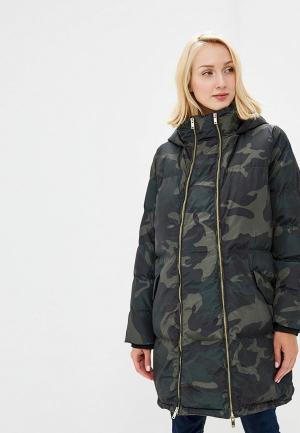 Куртка утепленная Mamalicious. Цвет: хаки