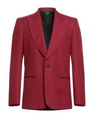 Пиджак N°21. Цвет: красно-коричневый