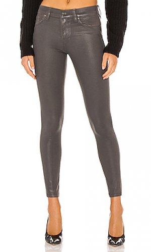 Скинни nico Hudson Jeans. Цвет: серый