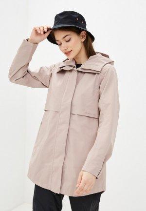 Куртка Didriksons EDITH. Цвет: бежевый