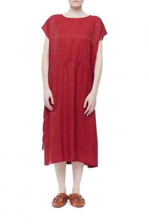 Платье Cyrille Gassiline. Цвет: винный