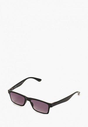 Очки солнцезащитные Topman. Цвет: черный