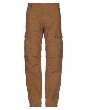 Повседневные брюки CARHARTT. Цвет: хаки