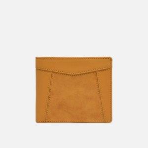 Кошелек Essential Leather Bifold Middle Master-piece. Цвет: жёлтый