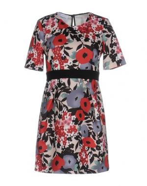 Короткое платье ANNARITA N TWENTY 4H. Цвет: кирпично-красный