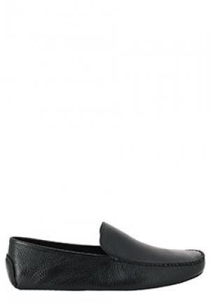 Тапочки CORNELIANI. Цвет: черный