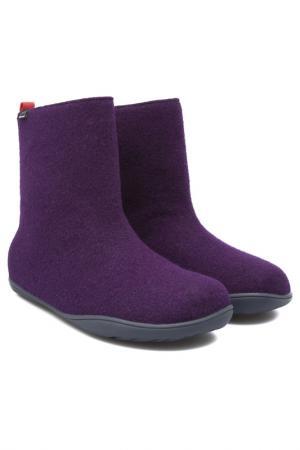 Валенки CAMPER. Цвет: фиолетовый