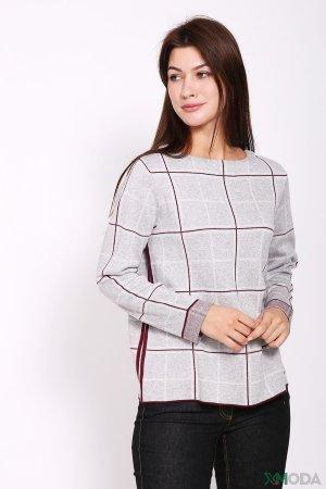 Пуловер Bianca. Цвет: серый