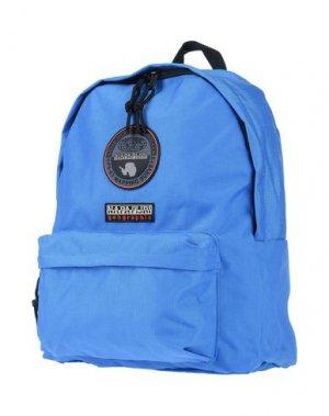 Рюкзаки и сумки на пояс NAPAPIJRI. Цвет: лазурный