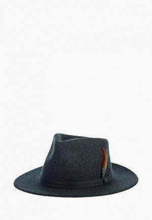 Шляпа Stetson. Цвет: серый