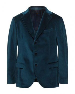 Пиджак MP MASSIMO PIOMBO. Цвет: цвет морской волны