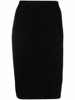 Юбка-карандаш миди Olivia Filippa K. Цвет: черный