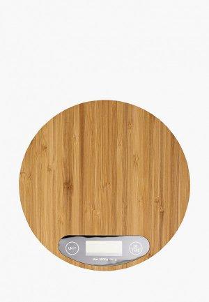 Весы кухонные ZDK S-Kit Home 2, до 5 кг. Цвет: бежевый