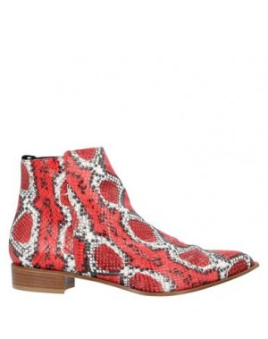 Полусапоги и высокие ботинки LORENA PAGGI. Цвет: красный