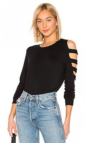 Пуловер captivate LA Made. Цвет: черный